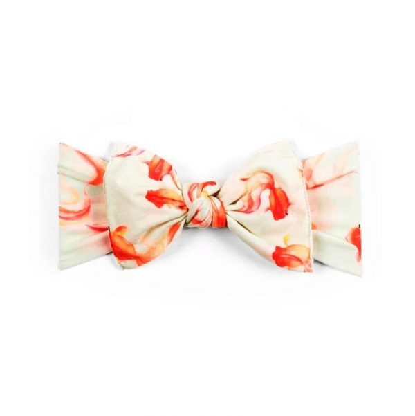 Baby Bling Printed Knot Goldie