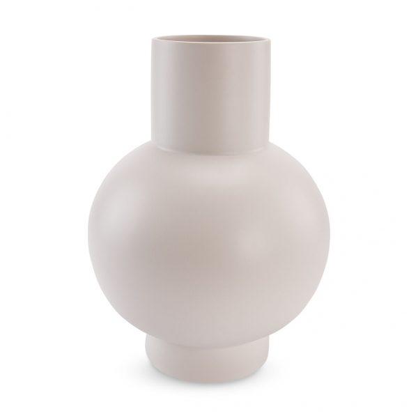 Extra Large Vaporous Gray Raawii Strom Vase