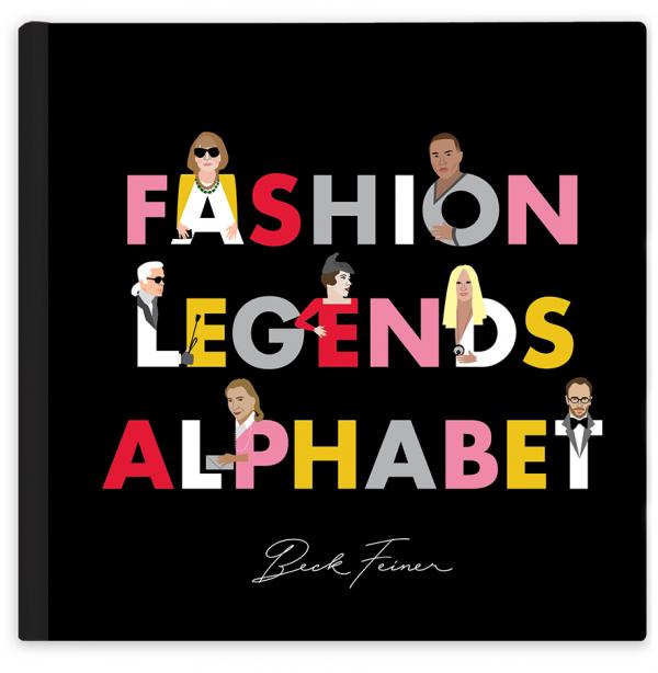 Fashion Legend Alphabet Book