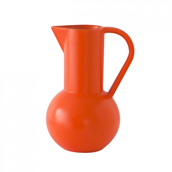 Large Orange Raawii Strom Jug