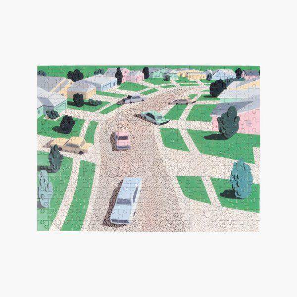 Pastel Suburbia Puzzle 1