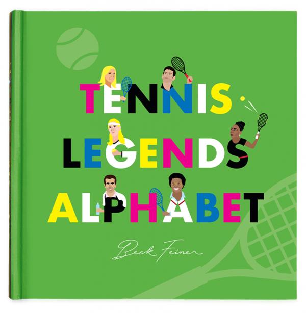 Tennis Legends Alphabet Book