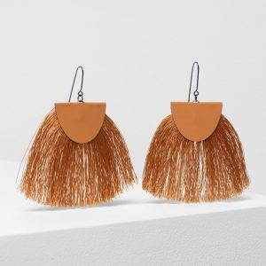Elk the Label Holm Earrings Orange