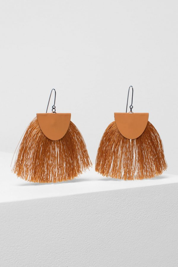 Elk the Label Holm Earrings Orange