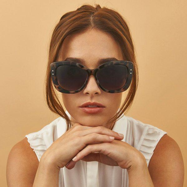 Fiona Sunglasses on Model