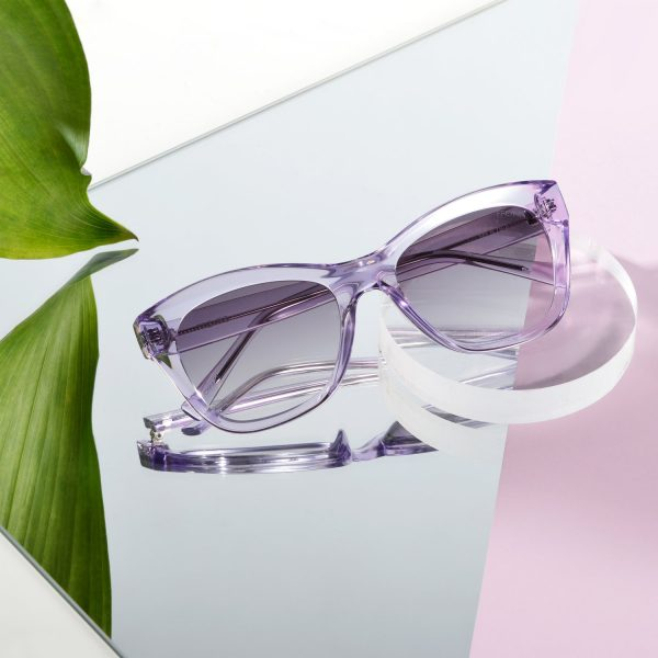 Lavendar Mila Sunglasses Editorial