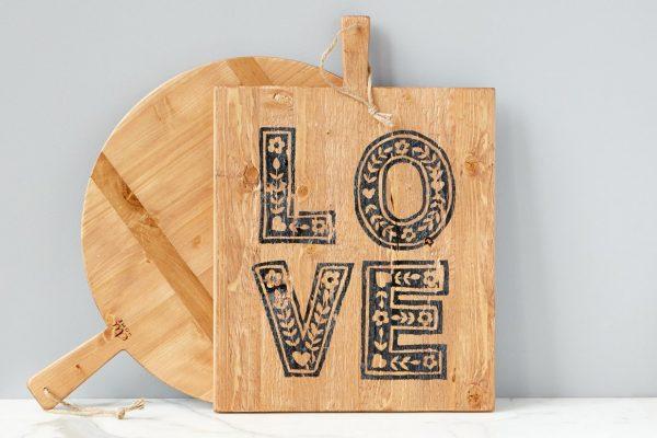Love Charcuterie Board