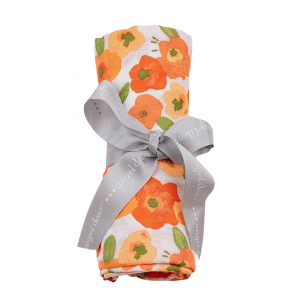 Angel Dear Poppies Swaddle Blanket