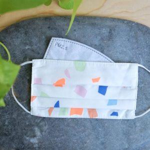 Confetti Mask 10 Filters & Pouch