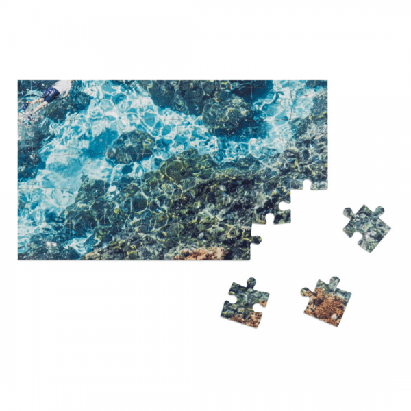 Gray Malin The Beach Two-Sided Puzzle Detail