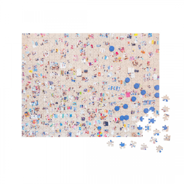 Gray Malin The Beach Two-Sided Puzzle Sandy Beach