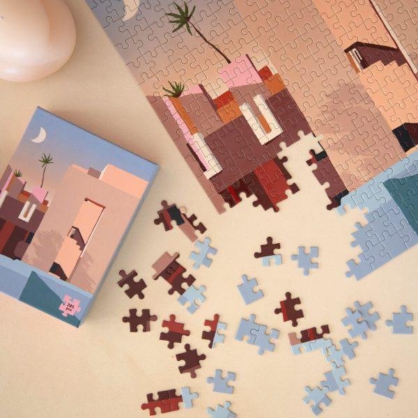 La Muralla Roja Puzzle