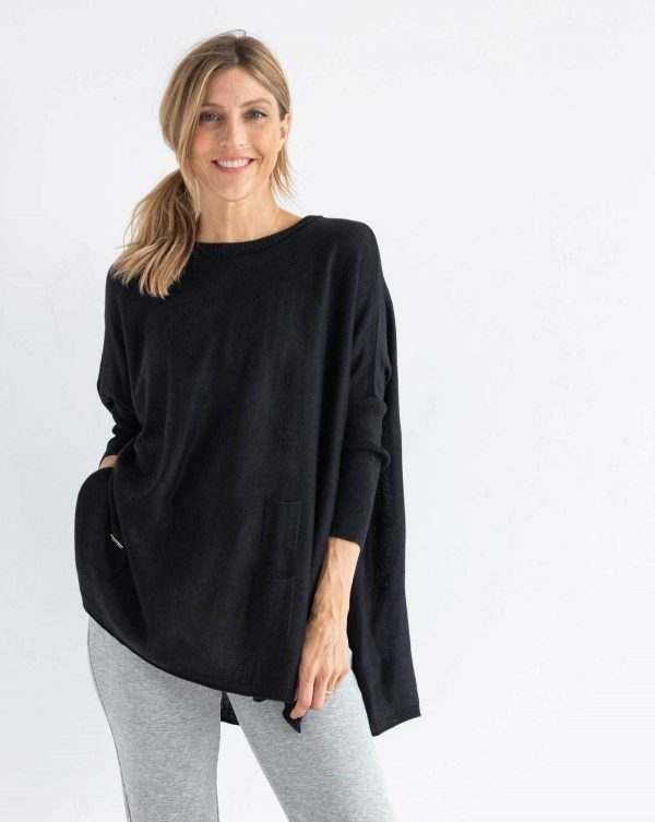 Mersea Black Catalina Sweater