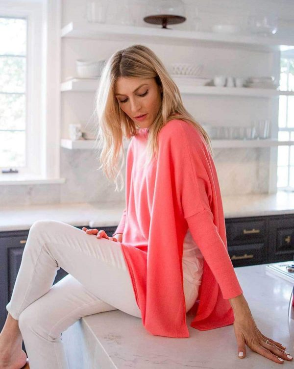 Mersea Coral Catalina Sweater