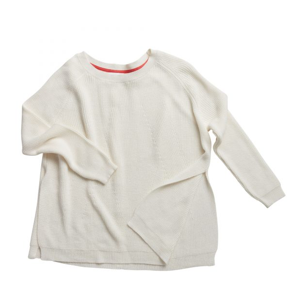Mersea White Camden Sweater