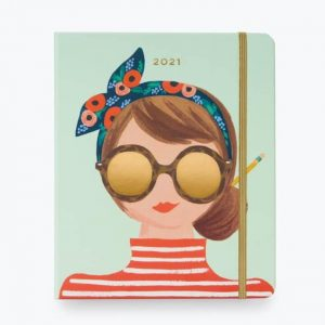 Rifle Paper Co Girl 17 Month Planner