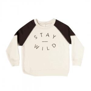 Rylee & Cru Stay Wild Raglan Sweatshirt