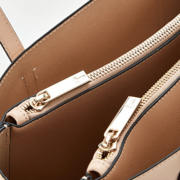 Ted Baker Taupe Narissa Tote Pocket Detail