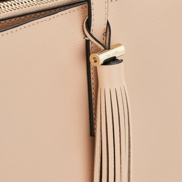 Ted Baker Taupe Narissa Tote Tassel Detail