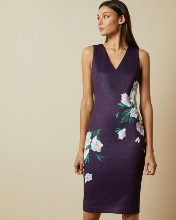 Ted Baker Toriiy Wilderness Bodycon Dress