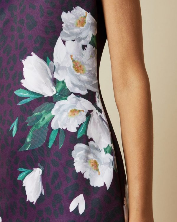 Ted Baker Toriiy Wilderness Bodycon Dress Detail