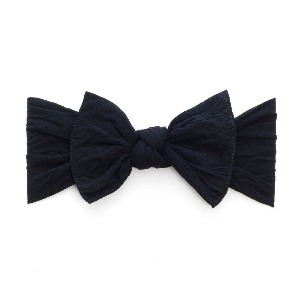 Baby Bling Black Classic Knot