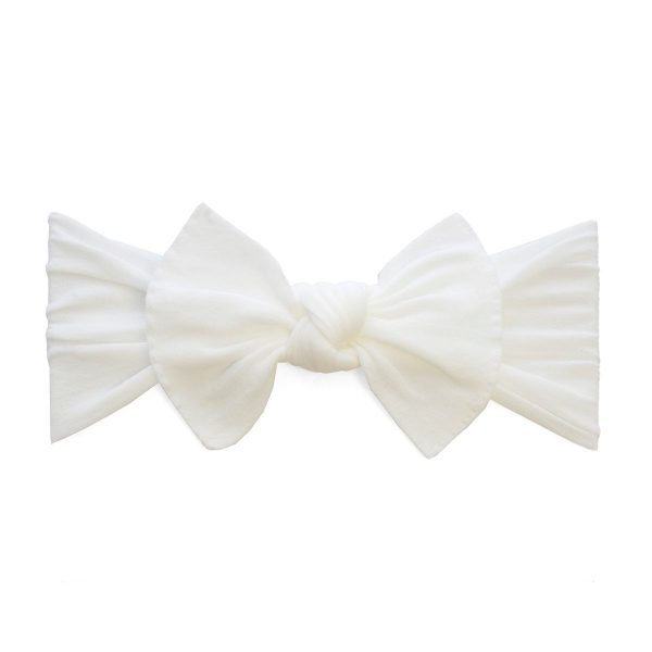 Baby Bling White Classic Knot