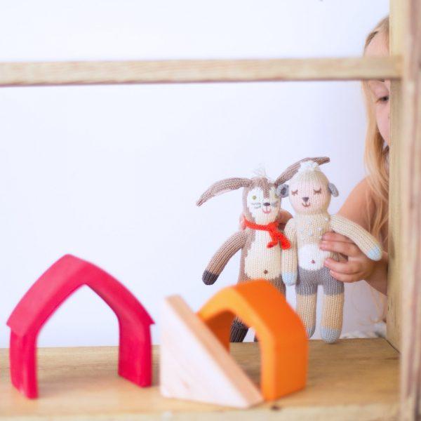 BlaBla Wooly Sheep Rattle Lifestyle