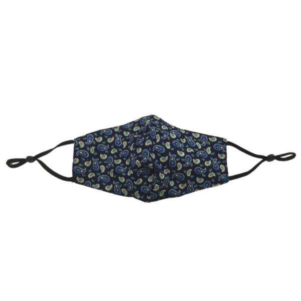 Blue Pasley Face Covering