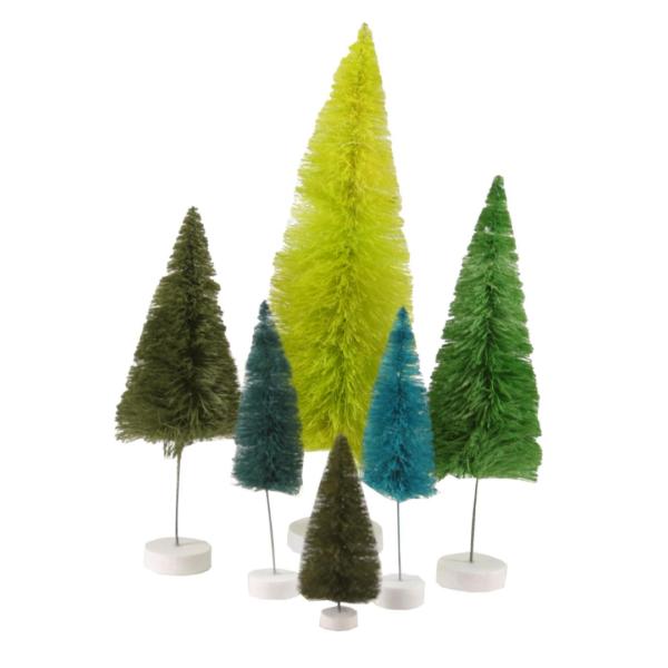 Green Rainbow Spectrum Trees