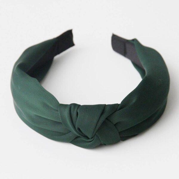 Green Knot Hairband