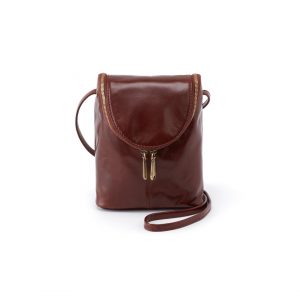 Hobo Chocolate Fern Crossbody
