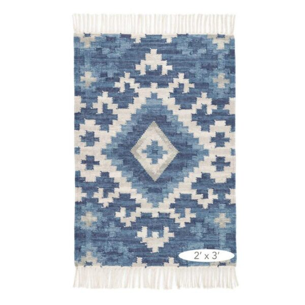 Mara Kilim Woven Cotton Rug 2x3