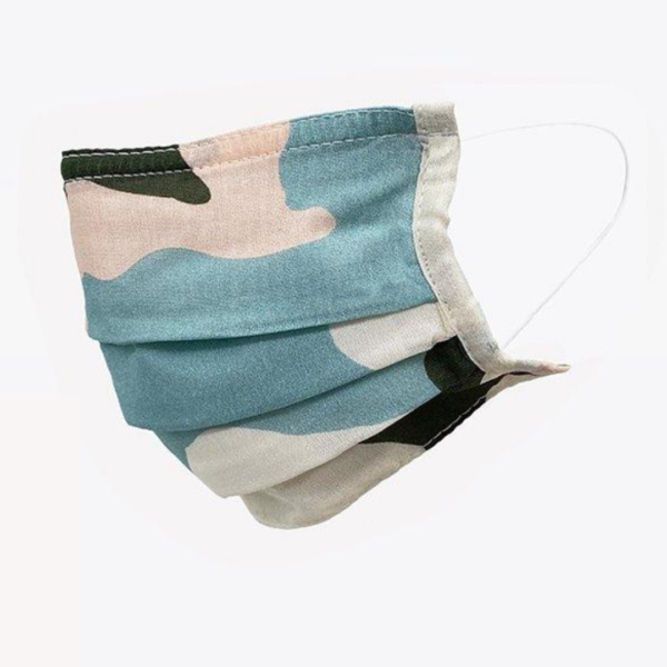Pastel Camo Face Covering