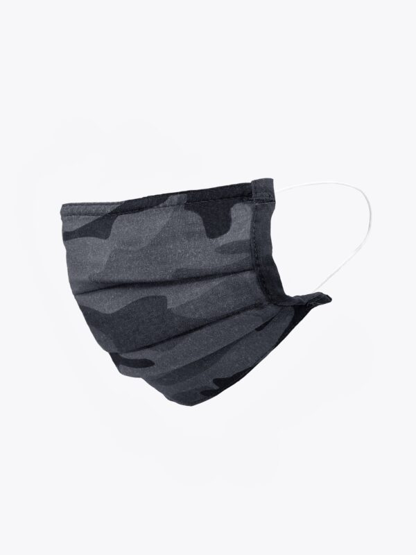 Sanctuary Charcoal Camo Face Covering