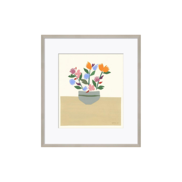 Still Life Flower Pot Artwork
