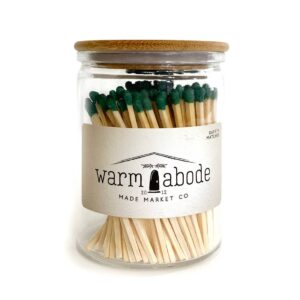 Warm Abode Olive Matches