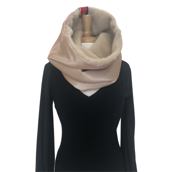 3 in 1 Camel Cowl Neck Only