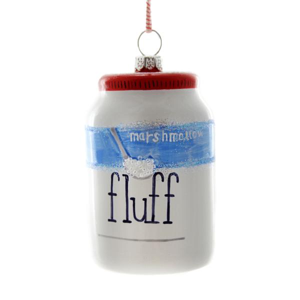 Marshmallow Fluff Ornament