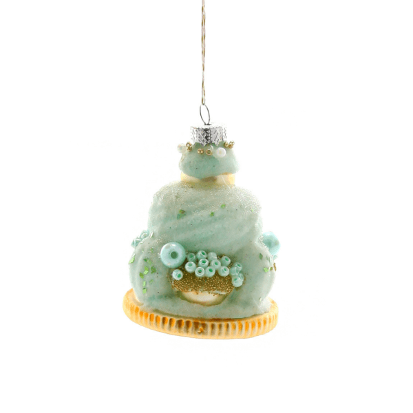 Cody Foster & Co Mint Green Pastry Ornament