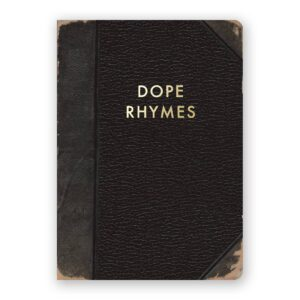 Dope Rhymes Notebook