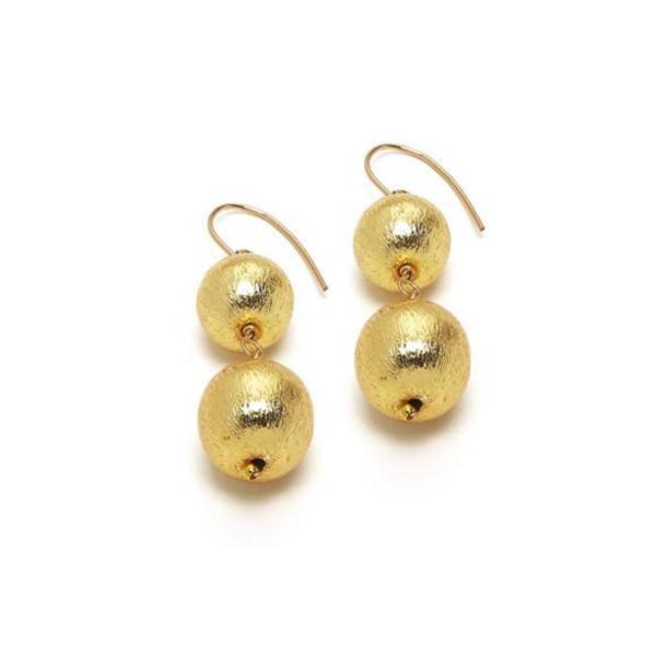 Double Gold Dee Earring