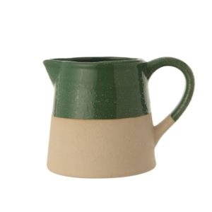Green Dipped Pitcher
