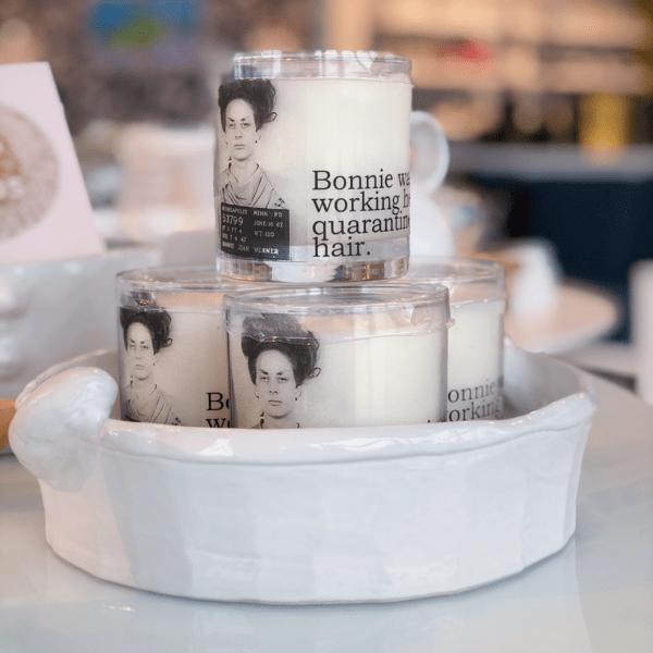 Quarantine Hair Candle Shop Photo