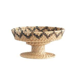 Rattan Pedestal Bowl