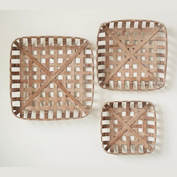 Square Tobacco Baskets 1
