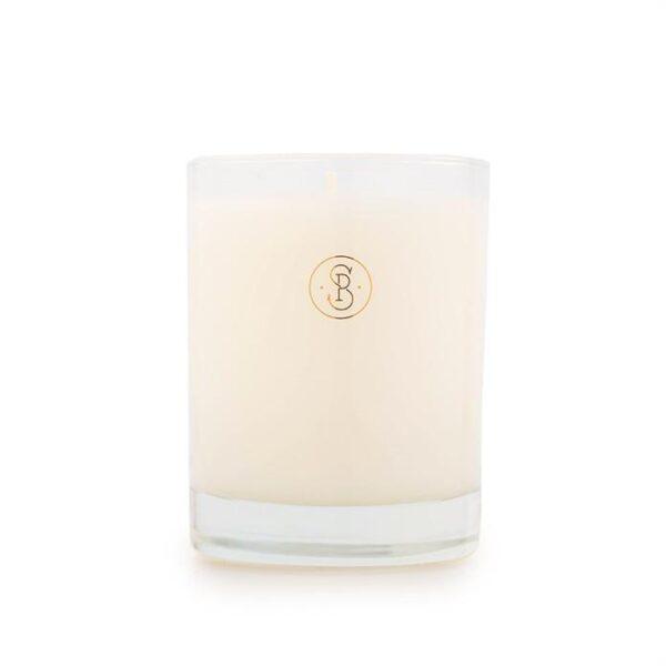Sugar Paper White Linen Candle