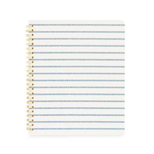 Blue Stripe Notebook