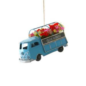 Fresh Flowers Truck Ornament