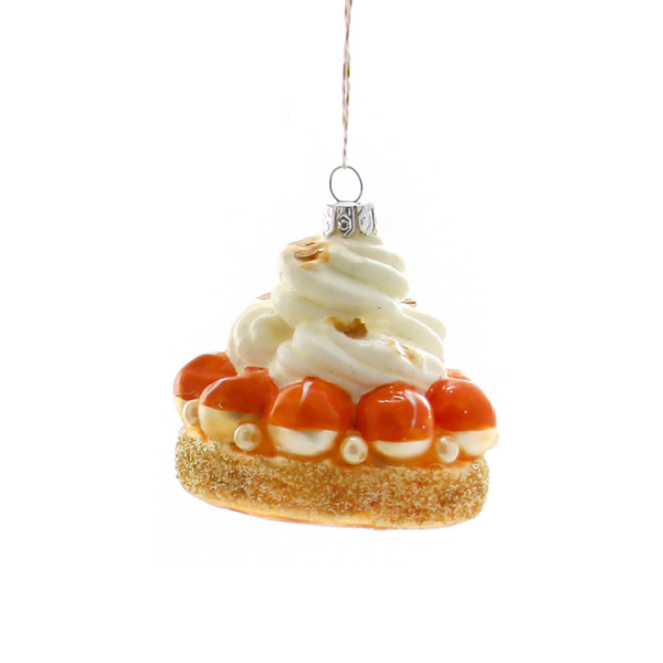 Cody Foster & Co Orange Pearls Pastry Ornament